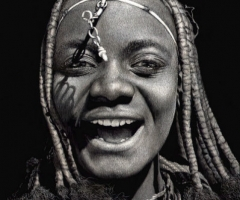 In Memory: Diana Lee - Laughing Himba Woman