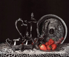 Lorna Hannett - Tea and Strawberries